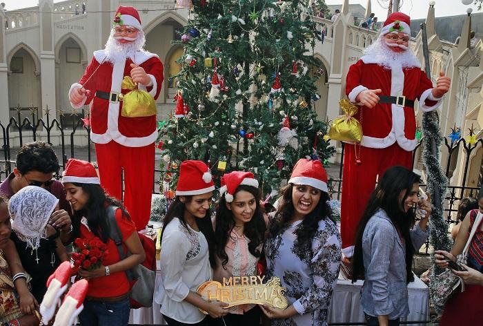 جشن کریسمس در هندوستان
