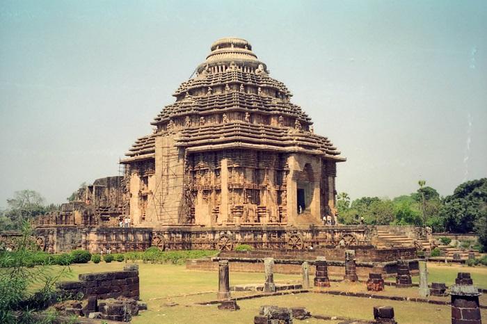 معبد خورشید (Sun Konark) در کشور هند