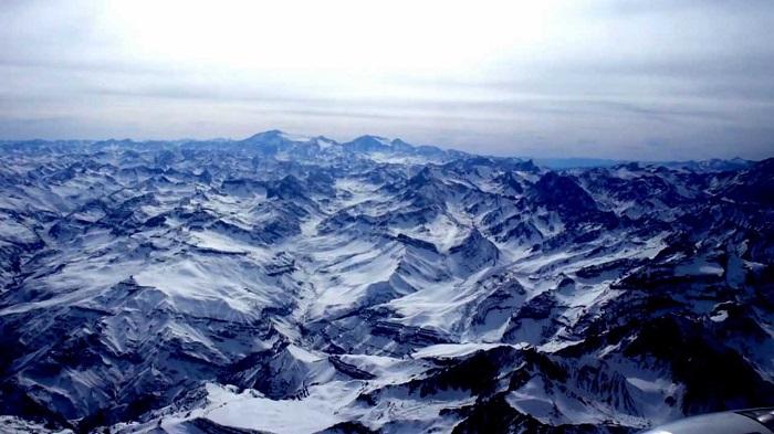 کوه های آند شیلی