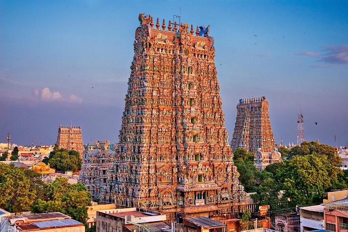 معبد Meenakshi Amman در کشور هند
