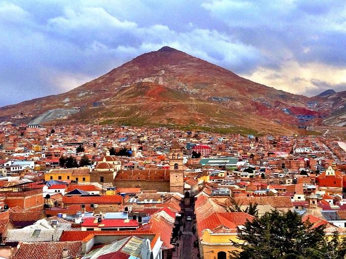 شهر پوتوسی (Potosí) در کشور بولیوی
