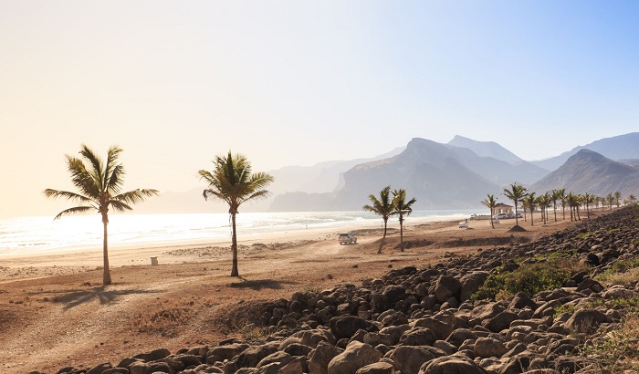 ساحل مغسیل (Mugsail) در کشور عمان