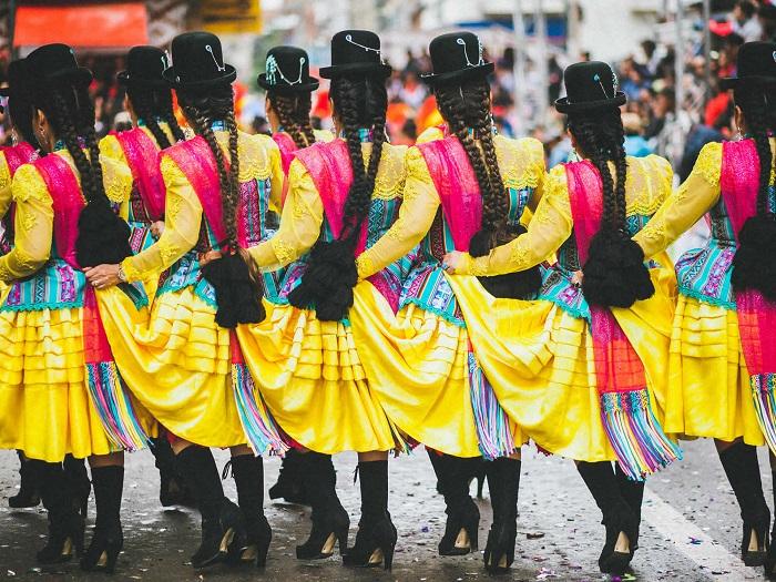 جشنواره ارورو (Oruro) در کشور بولیوی