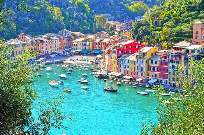 دهکده پورتوفینو (Portofino) در کشور ایتالیا