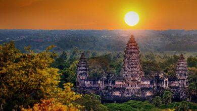 آنگکور وات (Angkor Wat) در کشور کامبوج