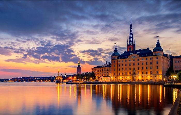 دریاچه مالارن (Lake Malaren, Stockholm)