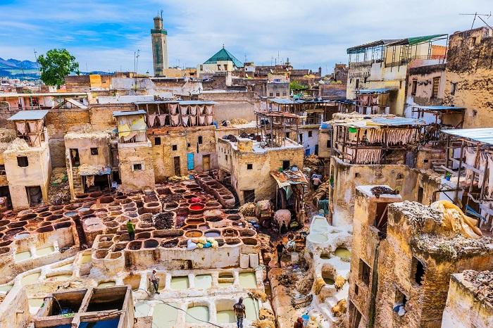 شهر فس در کشور مراکش