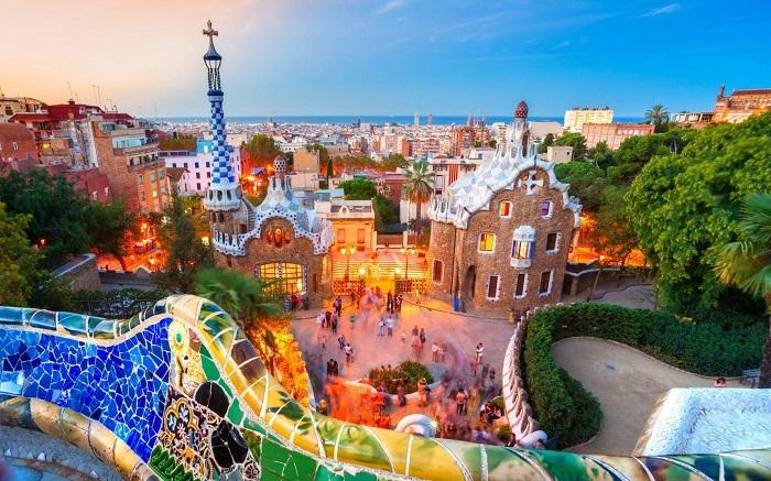 شهر بارسلونا در کشور اسپانیا