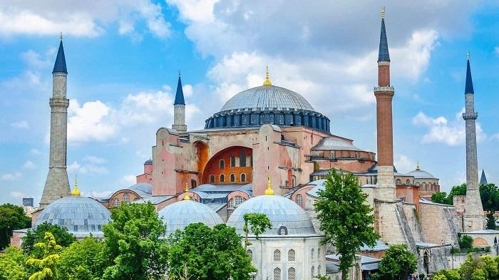 موزه ایاصوفیه (Hagia Sophia) در کشور ترکیه