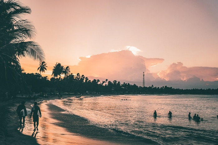 خلیج اروگام (Arugam) در کشور سریلانکا
