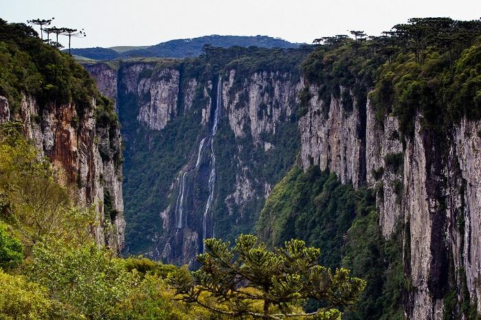 پارک ملی آپاراتوس دا سرا (Aparados da Serra) در کشور برزیل