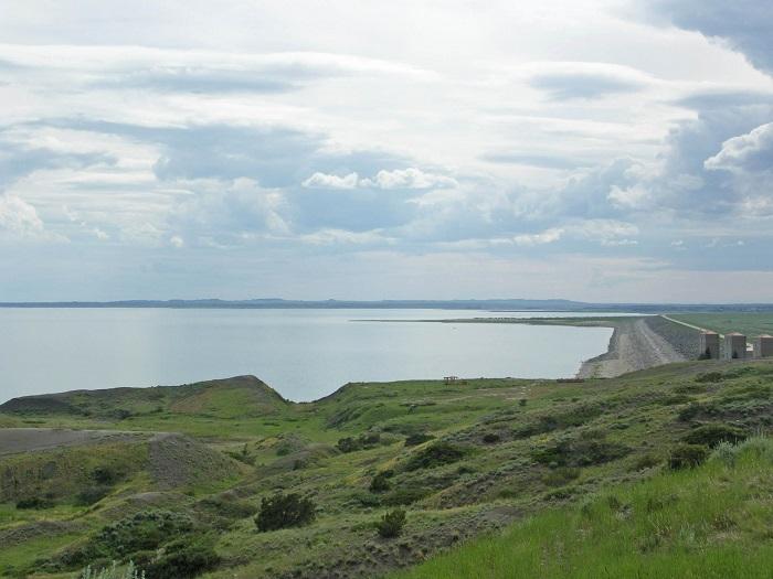 سد فورت پک (Fort Peck) در کشور آمریکا