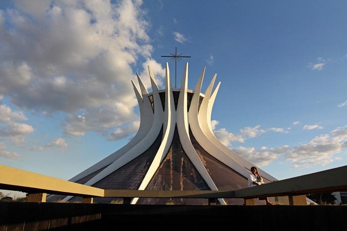 کلیسای جامع برازیلیا (Brasília) در کشور برزیل
