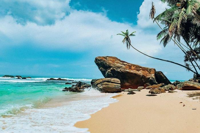 ساحل اوناواتونا (Unawatuna) در کشور سریلانکا