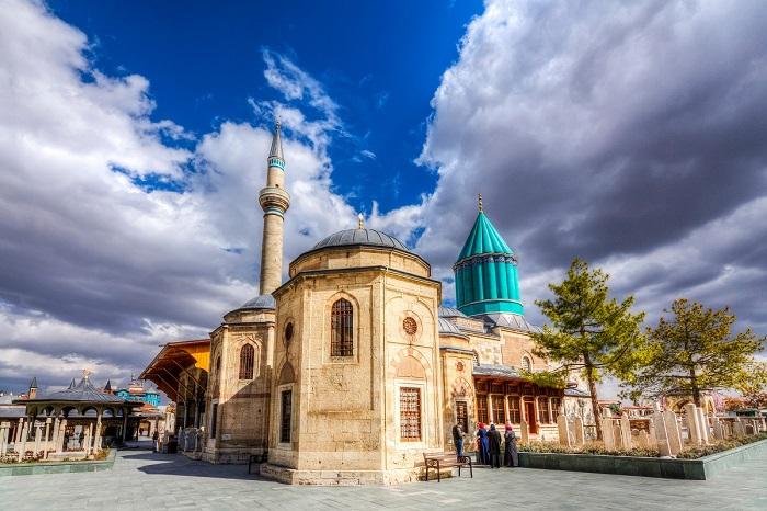 شهر قونیه (Konya) در کشور ترکیه