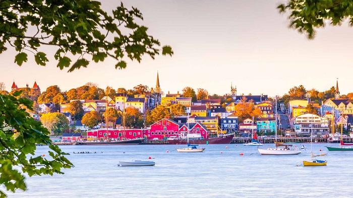 شهر لاننبورگ در کشور کانادا