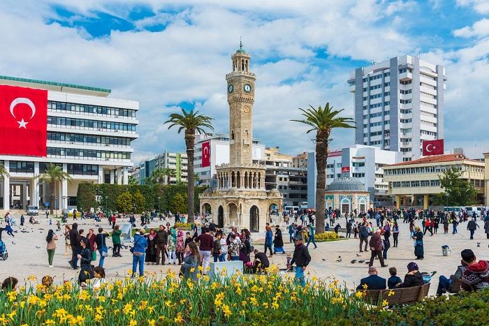شهر ازمیر (Izmir) در کشور ترکیه