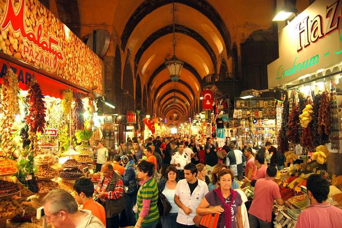 بازار مصری (Egyptian bazaar) در کشور ترکیه