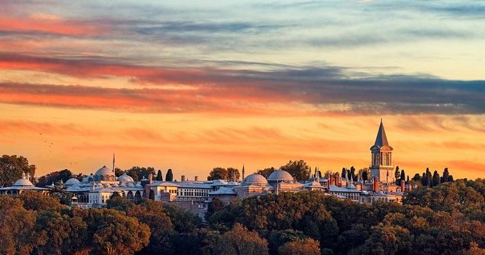 کاخ Topkapi در کشور ترکیه
