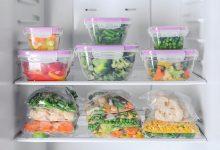 یخ زدن مواد غذایی داخل یخچال