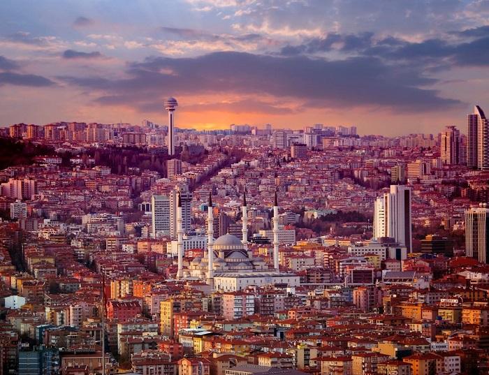 شهر آنکارا (Ankara) در کشور ترکیه