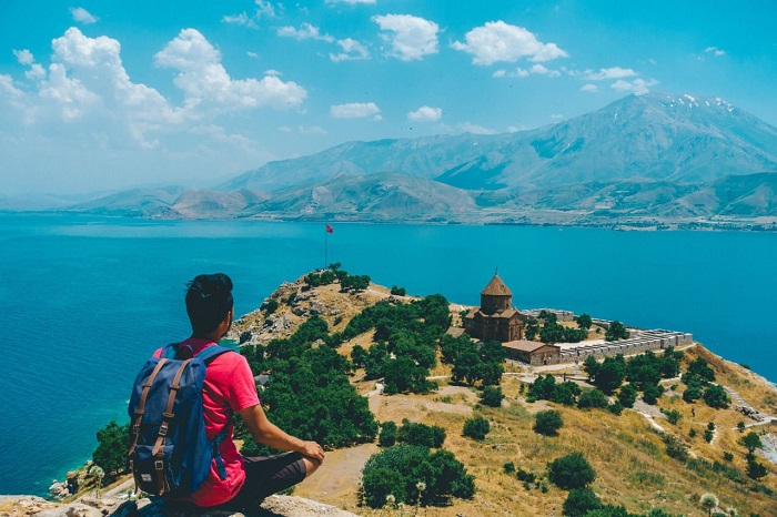جزیره آکدامار (Akdamar) در کشور ترکیه