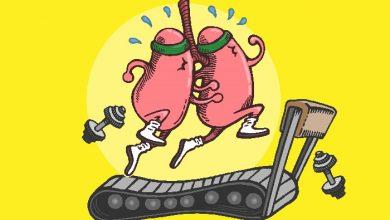 تمرینات ساده برای افزایش ظرفیت ریه
