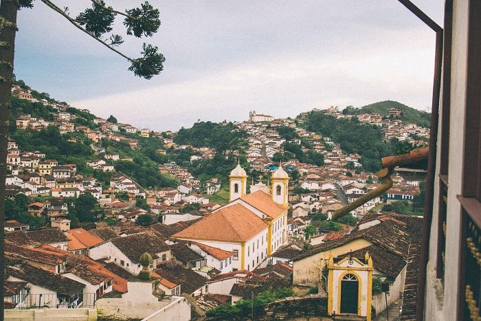 شهر اورو پرتو (Ouro Preto) در کشور برزیل