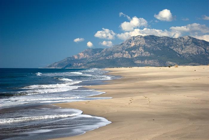 ساحل پاتارا (Patara) در کشور ترکیه