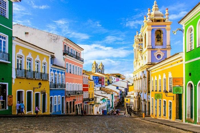 پلوورینیو (Pelourinho) در کشور برزیل