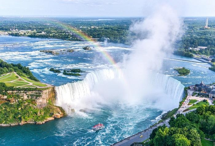 آبشارهای نیاگارا در کشور کانادا