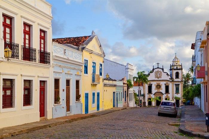 شهر تاریخی اولیندا (Olinda) در کشور برزیل