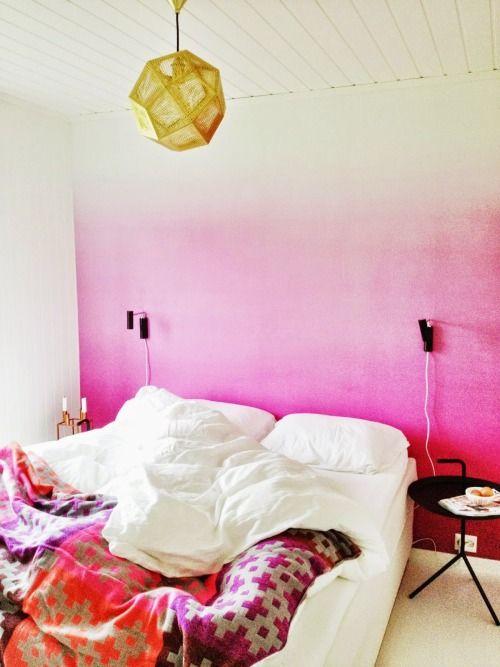 رنگ آمیزی آمبره در دکوراسیون منزل
