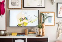ایده چسباندن عکس روی دیوار
