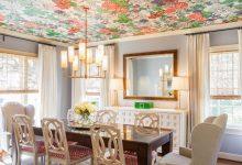 ایده کاغذ دیواری سقف