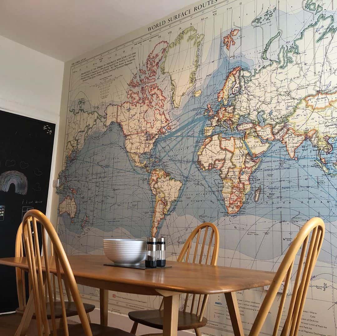 ایده برای تزیین دیوار آشپزخانه