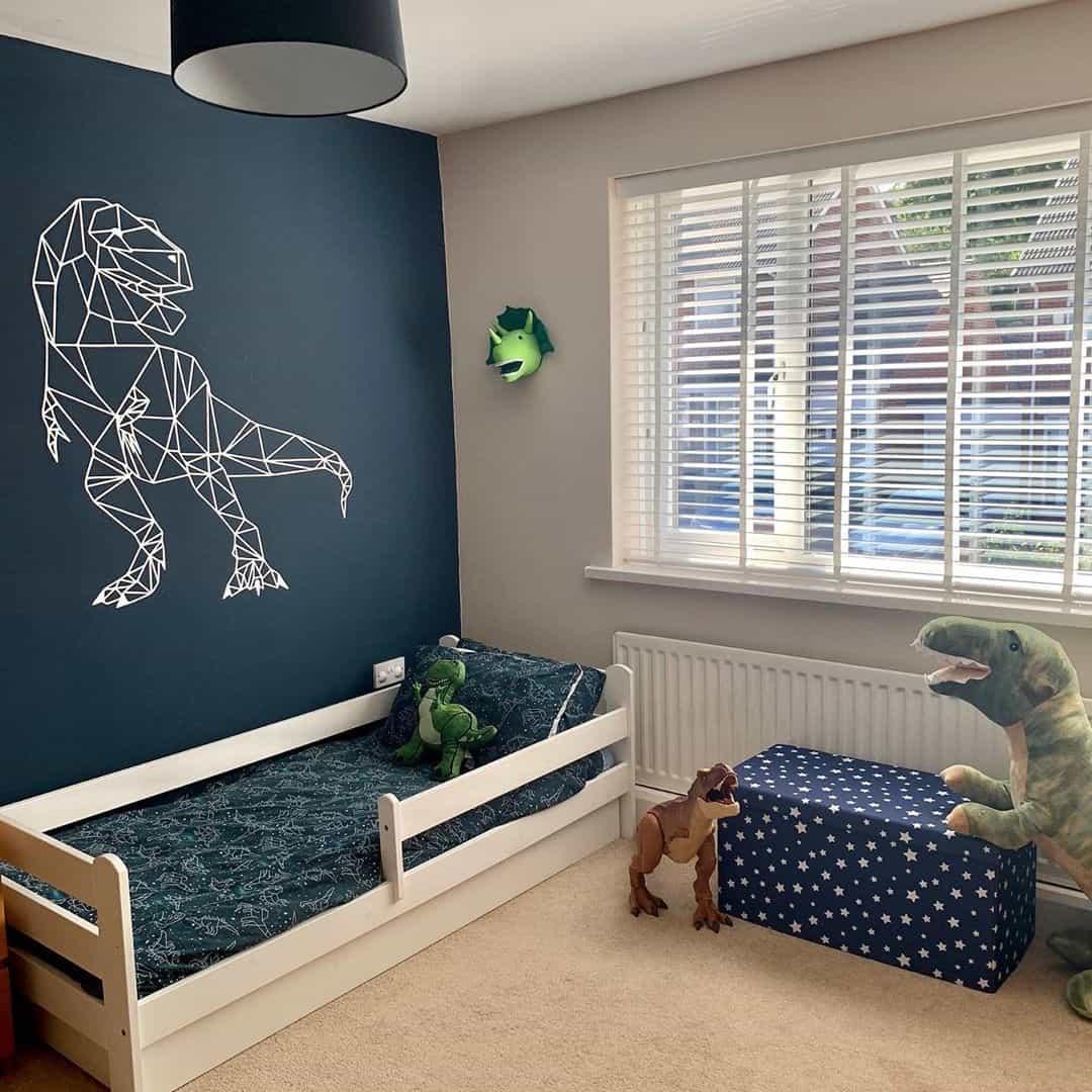 ایده دکوراسیون اتاق خواب پسرانه