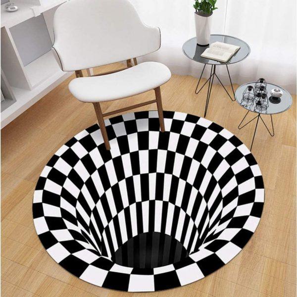 مدل فرش گرد فانتزی