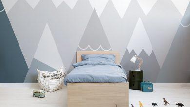 ایده پس زمینه دیوار اتاق کودک