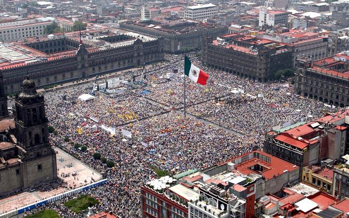 میدان دلا کنستوسیون مکزیکوسیتی