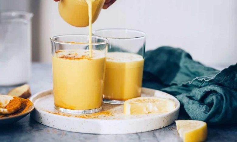 شیر زردچوبه