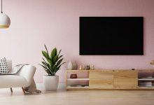ایده طراحی دیوار پشت تلویزیون