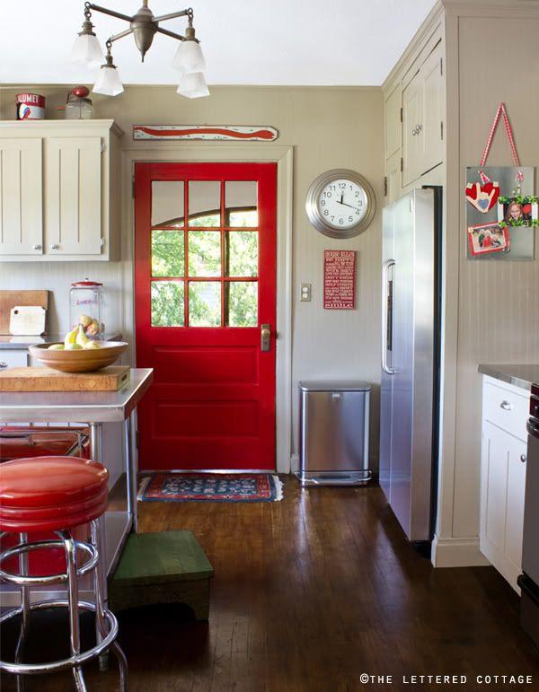 ایده رنگ درب ورودی منزل