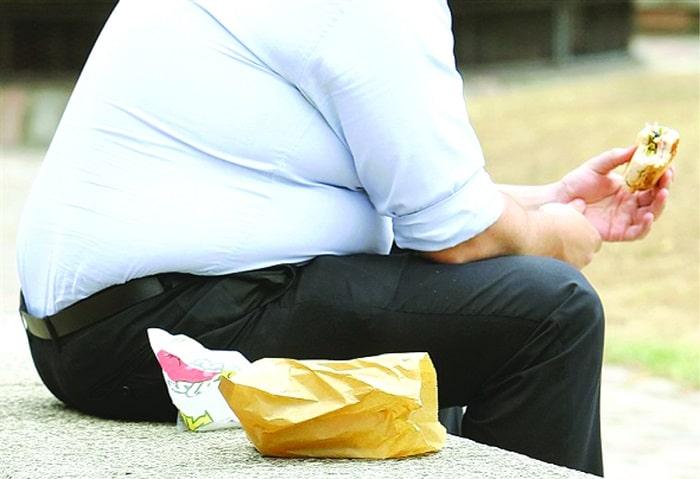 عوارض اضافه وزن در مردان